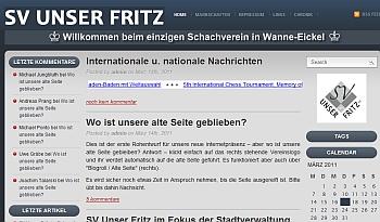 Webseite Unser Fritz
